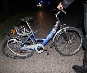Potrącony rowerzysta zmarł w szpitalu