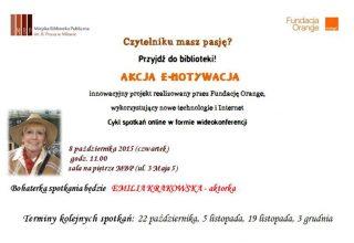 Miejska Biblioteka Publiczna w Mławie zaprasza