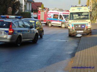 Mława. Potrącona na ulicy Kościuszki 19-latka zmarła w szpitalu