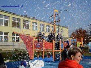 Nowy plac zabaw w przedszkolu na Hożej