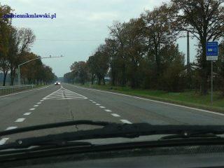 Autem do Warszawy wolniej, ale bezpieczniej ?