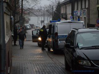 Akcja mławskich policjantów na ulicy 18-tego Stycznia
