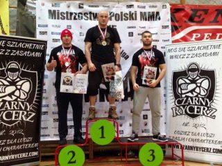 Bielski z wicemistrzostwem Polski MMA