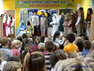 Jasełka dla najmłodszych w przedszkolu na Hożej