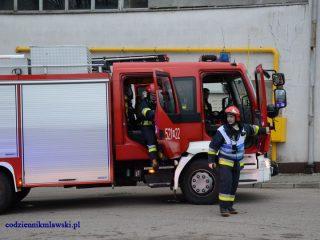 Choć to ćwiczenia, lecz strażacy traktowali je bardzo serio