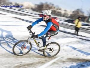 Łachut trzeci w zimowym triathlonie