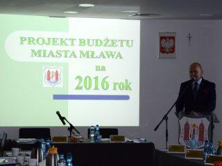 Mławskie inwestycje w nowym budżecie na rok 2016