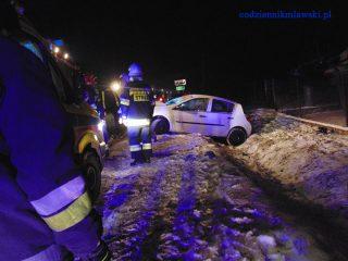 Kluszewo. Zderzyły się dwa samochody – trwają czynności policji