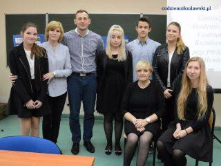 Pierwszy projekt gimnazjalny w Akademickim Centrum Kształcenia w Mławie