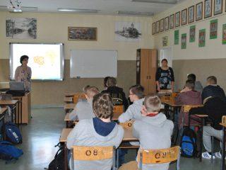 Pracownicy GUS z wizytą w klasie biznes Gimnazjum nr 2 w Mławie