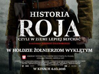 """Mławianie w filmie  """"Historia Roja"""". Szczególna oprawa podczas premiery w Kinie Kosmos 4 marca 2016 r. godz. 19.00"""