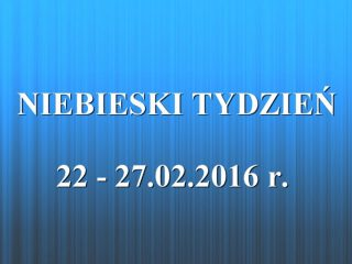 Niebieski Tydzień – bezpłatne porady dla ofiar przemocy
