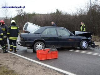 Mława. Poważny wypadek na ulicy Gdyńskiej