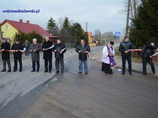 Kolejny odcinek powiatowej drogi przebudowany