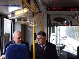 Na trasę MKM wyjechały dwa większe autobusy