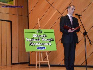 Inauguracja XXII Mławskiego Festiwalu Muzyki Akordeonowej
