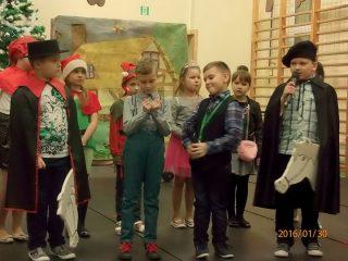 Choinka z Mikołajem w Lipowcu Kościelnym