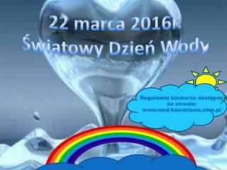 Konkurs dla dzieci promujący Światowy Dzień Wody
