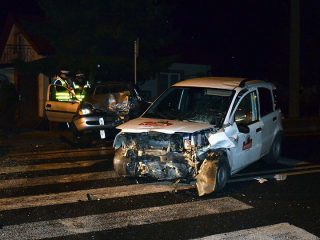 Żurominek. Wypadek na drodze krajowej nr 7. Policja ustala przyczyny zdarzenia.