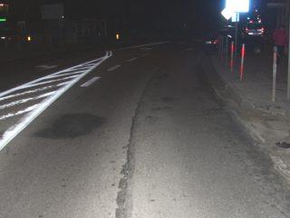 Wypadek w Strzegowie, ranny pieszy. Policja apeluje o ostrożność.