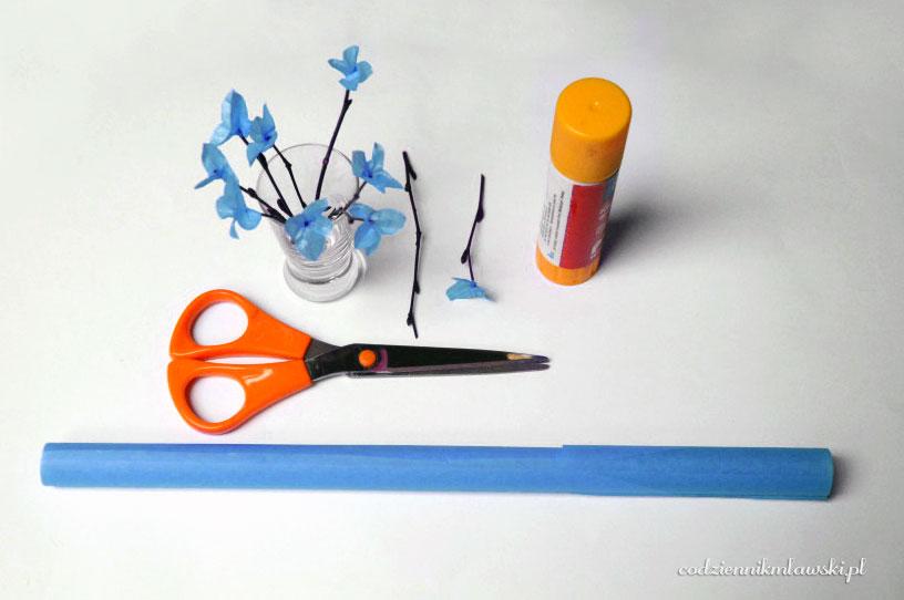 Pomysł na oryginalny wielkanocny stroik z wytłaczanki DIY wytłaczanka stroik mech jak zrobić stroik z wytłaczanki