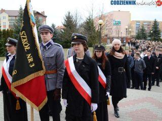 Zespół Szkół Nr 3 pamięta o rocznicy nadania szkole imienia Marszałka Józefa Piłsudskiego