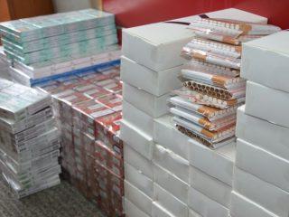 15500 sztuk papierosów bez akcyzy zabezpieczyli wczoraj mławscy kryminalni