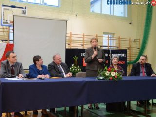 Wiceminister Teresa Wargocka gościem Szkół Katolickich w Mławie