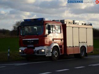 Pracowity koniec miesiąca w straży pożarnej