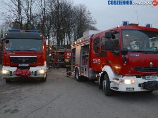 JRG Mława. Gasili pożary, otwierali pancerny sejf