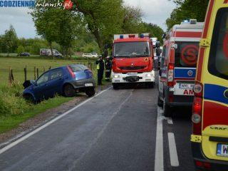 Wypadek pod Mławą