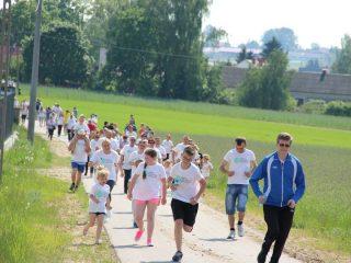 Mieszkańcy Wieczfni Kościelnej również biegają
