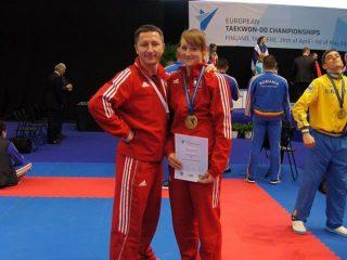 Mławianka medalistką mistrzostw Europy w teakwon-do