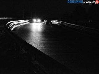 Oświetlenie wiaduktu na Wólce uszkodzili wandale