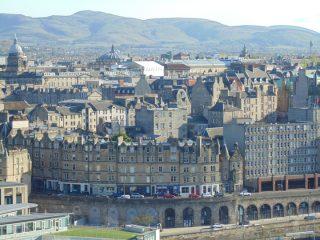 Pocztówka z Edynburga