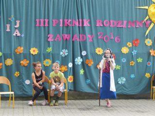 III Piknik Rodzinny w Szkole Podstawowej w Zawadach