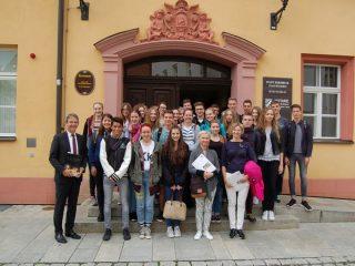 Uczniowie I LO gośćmi bawarskiego Hersbruck
