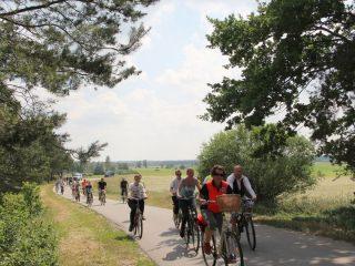 Rajd rowerowy w gminie Wieczfnia Kościelna