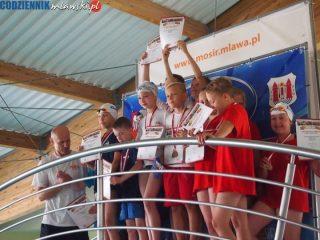 Płetwal zdobył dwadzieścia sześć medali na własnym basenie