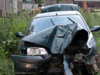 Wypadek w okolicach Załęża. Ranne 4 – letnie dziecko