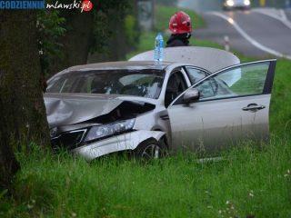 Wypadek koło Wiśniewa