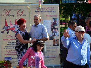 Letnia  zabawa taneczna dla seniorów