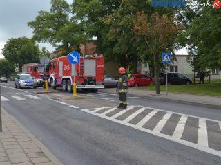 Kolizja na Warszawskiej