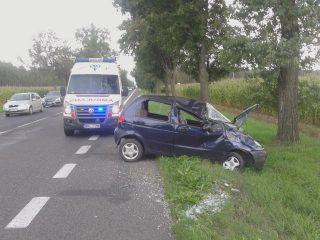 Wypadek koło Żurominka