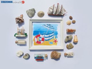 Plaża. Wakacyjne obrazki znad morza- część II