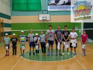 Pierwszy Wakacyjny Turniej Badmintona rozegrany