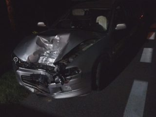 Wypadek koło Mdzewa