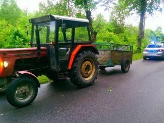 Policja będzie sprawdzać pojazdy rolnicze