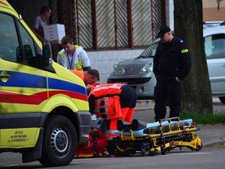 Kierująca skuterem potrącona na ulicy Sienkiewicza