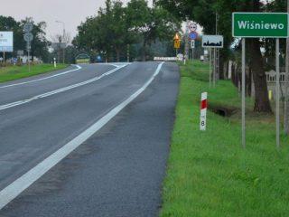 """Protest na """"siódemce"""" w Wiśniewie i Uniszkach Zawadzkich"""